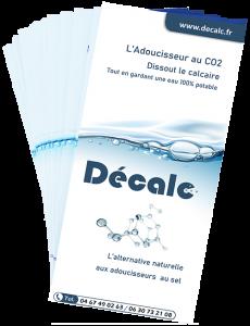Anticalcaire adoucisseur au CO2 brochure Flyer