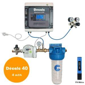 adoucisseur anticalcaire au CO2 Decalc 40