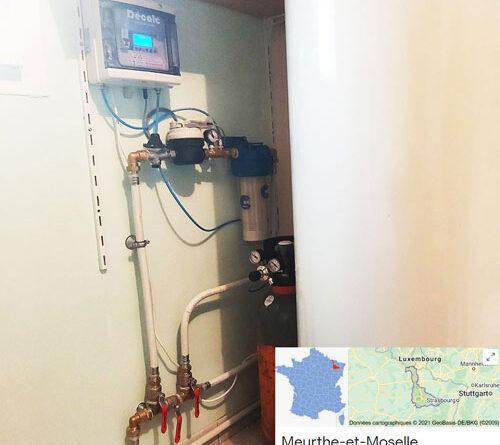 Installation d'un Adoucisseur CO2 DECALC en Meurthe et Moselle