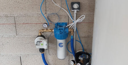 Installation d'un Adoucisseur CO2 DECALC dans les Bouches du Rhône à MOURIES