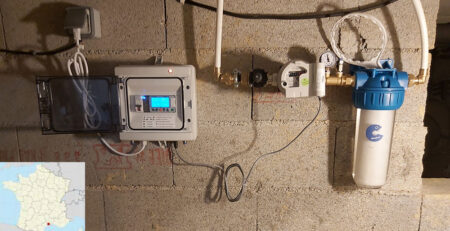Installation d'un Adoucisseur CO2 DECALC à Saint Jean de Vedas
