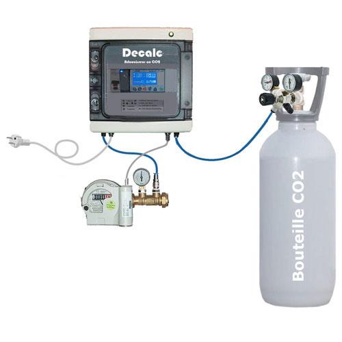 Adoucisseur au CO2 Kit de montage et Installation BASIC