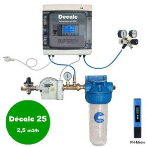 Adoucisseur au CO2 DECALC25
