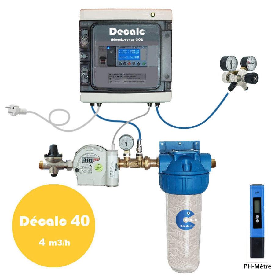 Anticalcaire Adoucisseur au CO2 DECALC 40