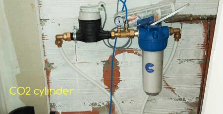 CO2 anti-lime water treatment system