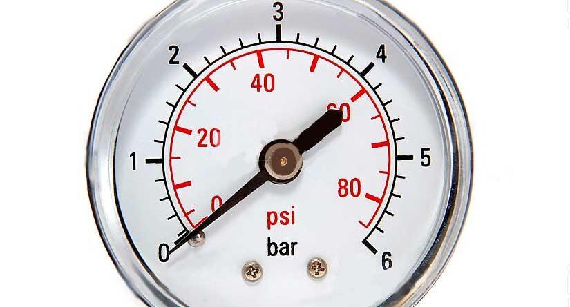 adoucisseur co2 pression de l'eau et du gaz co2
