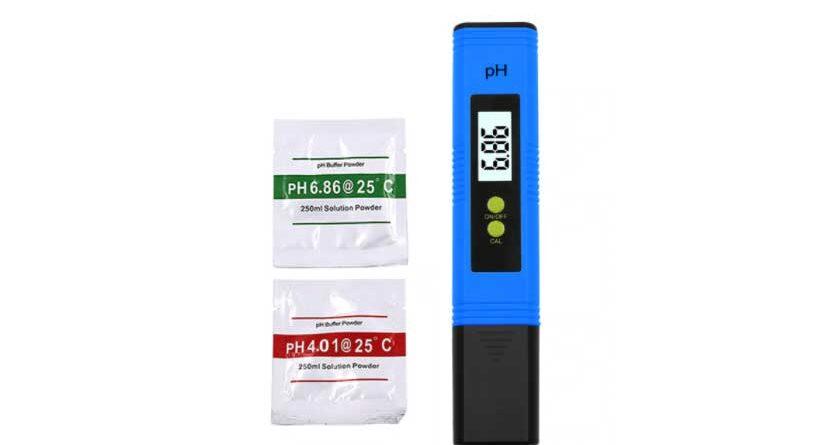 PH-mètre notice français étalonnage réglage de l'adoucisseur anticalcaire u CO2